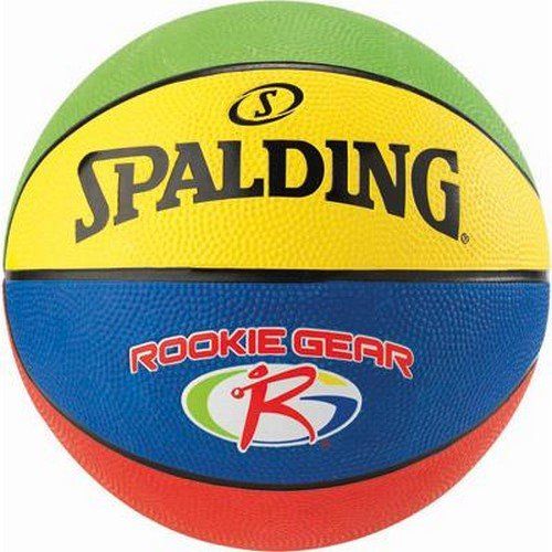 Spalding Jr. NBA/Rookie Gear Out Sz. 5 (83–419z) – Multicolore multicolore 5.0 SPALG|#Spalding 3001595011515