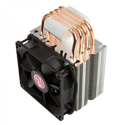 Raijintek Aidos CPU Air Cooler with 92mm Fan Black by Raijintek (Image #3)