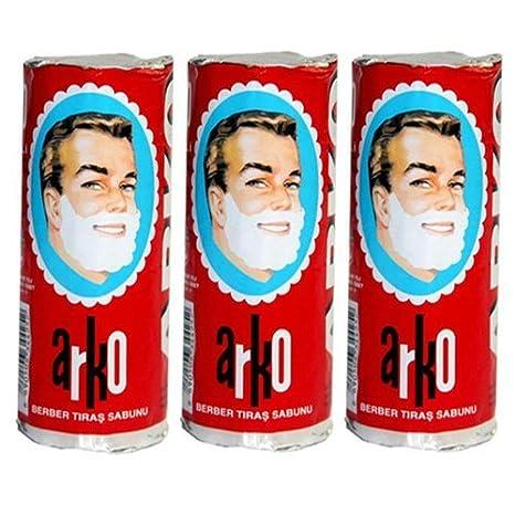 Arko Shaving Cream Soap Stick Pack Of 3 Beauty