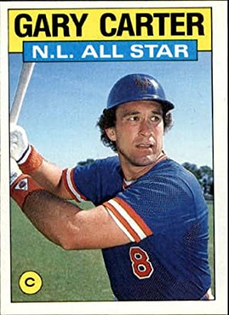 Amazoncom 1986 Topps Baseball Card 708 Gary Carter Mint
