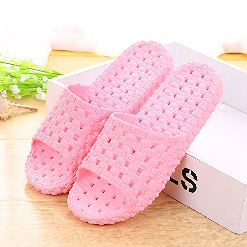 Slip Indoor and Slippers Optional Home Men's Slippers Plastic Slippers Women's Colors Slippers ZZHF Optional 6 Non Home Size B Couple Summer Bath Thick R0qInx7