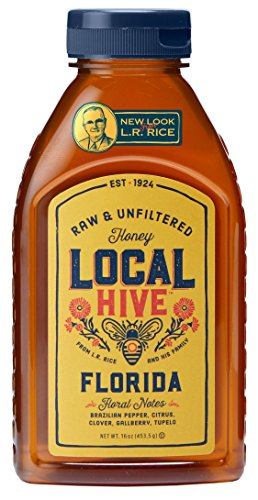 Local Hive Florida Raw & Unfiltered Honey, 16oz