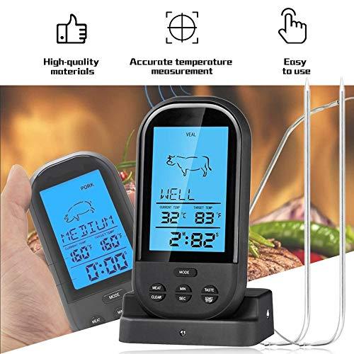 1 Wireless Digital Thermometer Barbecue Temperature