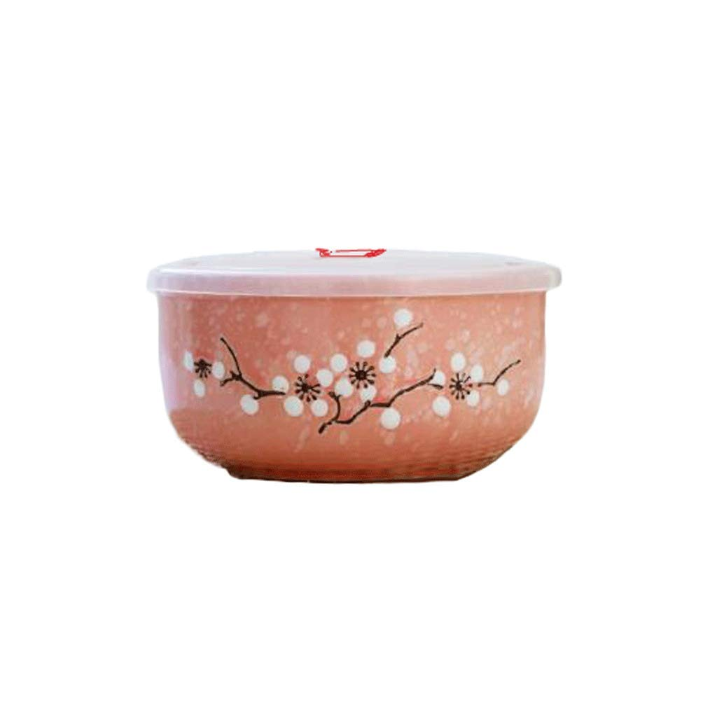 ZL-Porta alimentos Cajita con Tapa de cerámica Caja de Almuerzo de ...