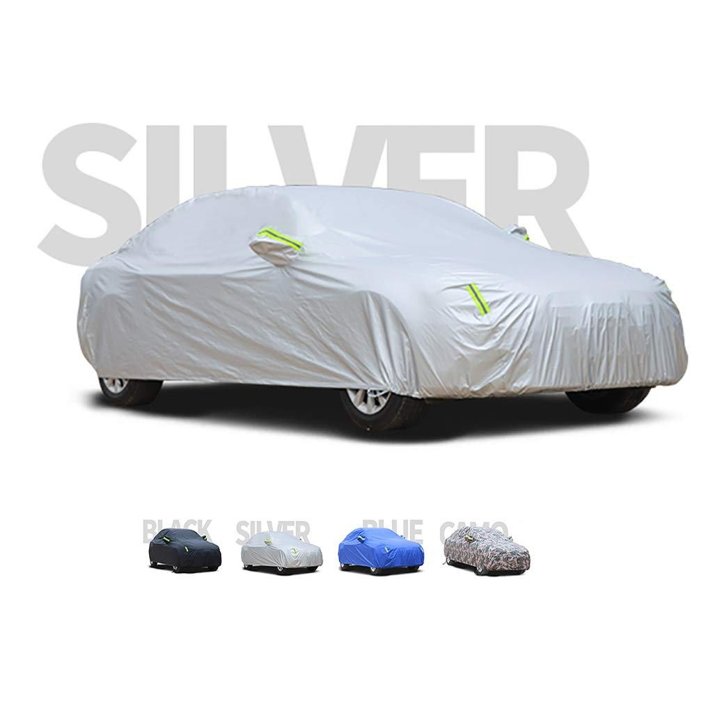 Color : A, Size : 2004 allroad 2.7T Compatible with Audi A6 Thick and Cotton Velvet Hood Can Adapt to All Kinds of Weather Yguocy Car Covers