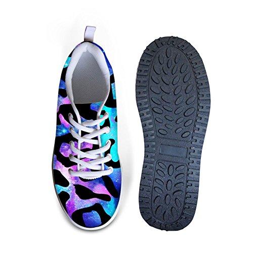 Platform Blue Wedges Comfort Shoes Womens U Galaxy Walking Cool B DESIGNS FOR Print 0PwA8qq