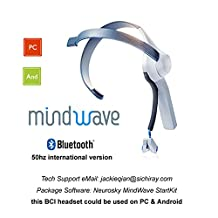 Sichiray neurosky Mindwave Electric Kit Control With Your Brainwave Bluetooth Interface Wearable Device Neurofeedback black friday Special Offer 10% off WRB0015