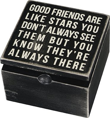 good friends are like stars - 2