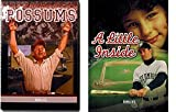 A Little Inside & Possums 2-DVD Family Sports Feature Films Bundle
