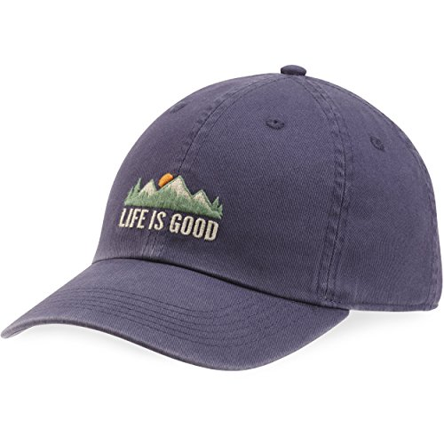 Life is good Chill Cap Lig Mountains Blue