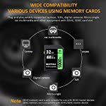 32GB SD Card, BOYMXU Professional 1000 x Class 10 SDHC UHS-I U3 Memory Card Compatible Computer Cameras and Camcorders, SD Memory Card Up to 95MB/s, Green/Black 12 SD High Speed Card Class 10, Up to 95MB/sec speed for the ultimate transfer rates. With growing video capabilities, you need high-performance cards you can rely on, and high-capacity options to keep you shooting longer without changing cards. BOYMXU's Professional 1000x SDHC UHS-I Cards makes that easy, providing you with large capacity options up to 32GB. Whether you are using a mid-range DSLR or HD camcorder, you will be able to leverage the latest photo and video features available for shooting high-quality images and stunning 1080p full-HD and 4K video.