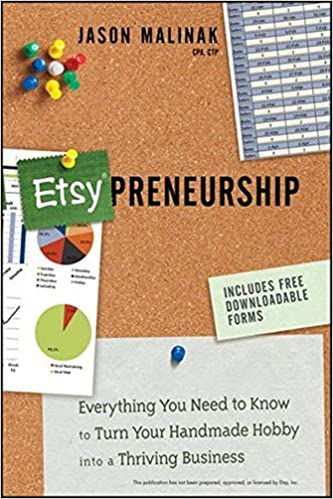 Etsy-preneurship: Everything You Need to Know to Turn Your Handmade Hobby into a Thriving Business by Jason Malinak (2012-10-12)