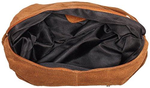 Mujer Bolso Bags4less Monaco De Hombro Marrón braun BRBqwO0x