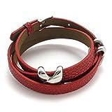 TEMEGO Jewelry Womens Leather Stainless Steel Bracelet,Cross Charm Wrap ...