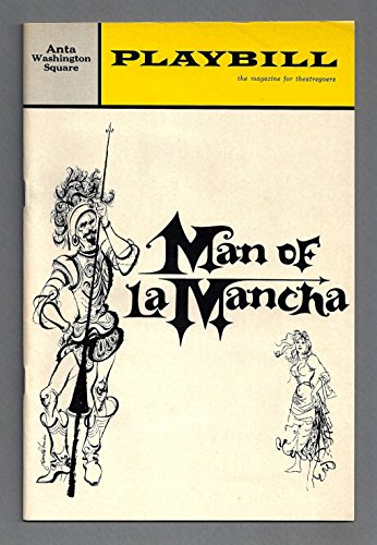 "Richard Kiley""MAN OF LA MANCHA"" Robert Rounseville/Mitch Leigh 1966 Broadway Playbill"