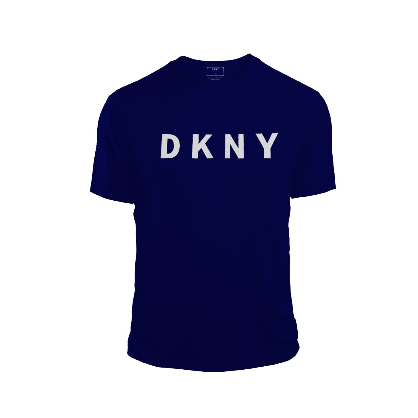 cost charm best sneakers great fit DKNY Mens Crew Neck T Shirt Front Logo Short Sleeve
