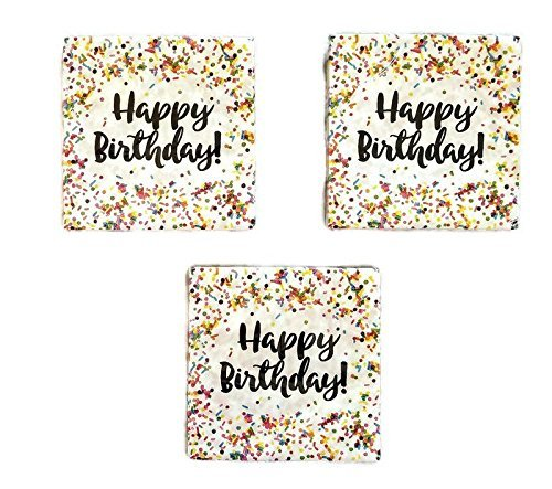 48 Creative Converting Sprinkles Birthday Napkins Party Bundle C C SG/_B07BQC2WDS/_US