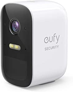 eufy Security eufyCam 2C Wireless Home Security Add-on Camera, Requires HomeBase 2, 180-Day Battery Life, HomeKit Compatibility, 1080p HD, No Monthly Fee