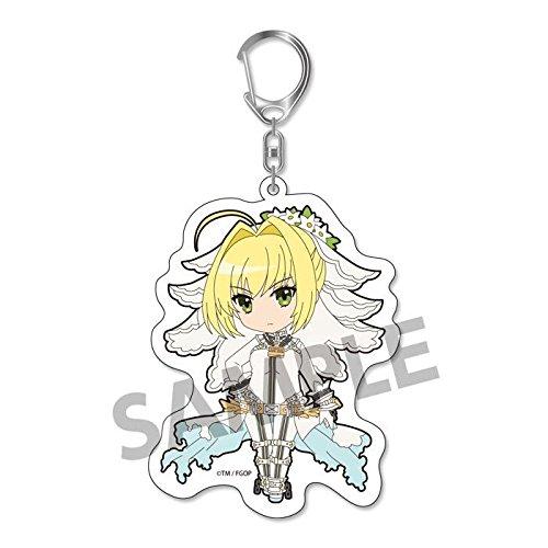 Fate Grand Order Pikuriru! Saber Nero Claudius Bride Character Acrylic Mascot Key Chain Collection Vol.3