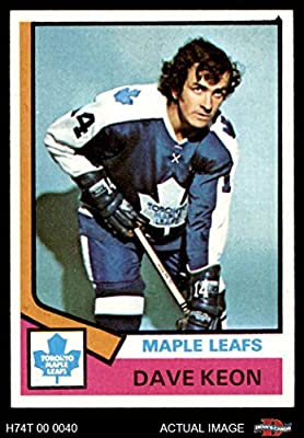 1974 Topps # 151 Dave Keon Toronto Maple Leafs (Hockey Card) Dean's Cards 7 - NM Maple Leafs