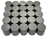 X-bet MAGNET ™ - Ceramic Industrial Magnets - 18 mm (.709 inch) Round Disc - Ferrite Magnets Bulk for Crafts, Science & hobbies - 100pcs / box!