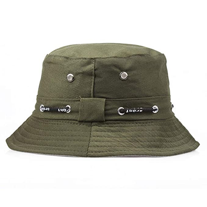 0c2385641f2 GODIWAN Bucket Hat Flat Cap Fisherman Hats for Men Women Summer Hip Hop  Outdoor Hiking Panama