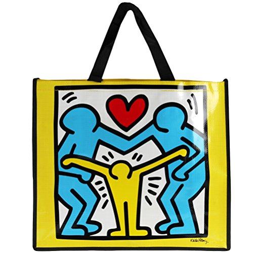 Keith Haring, Borsa a tracolla donna multicolore multicolore taglia unica