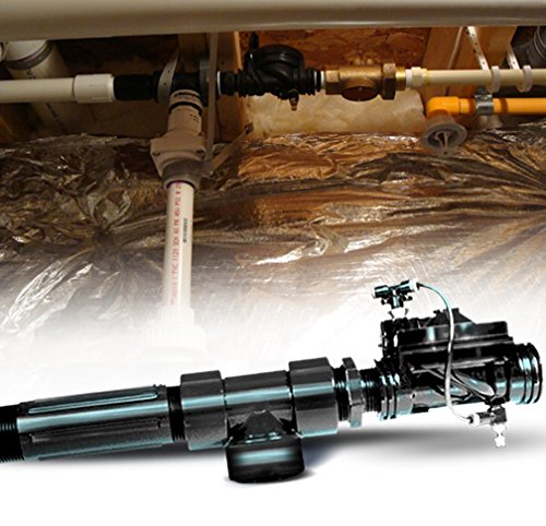 Hi & Dry Water Powered Backup Sump Pump (HB-1000) - Prevent Basement Flooding from Power Outages & Sump Failures