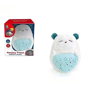 Amazon.com: Peluche luminoso con dibujos animales, juguete ...