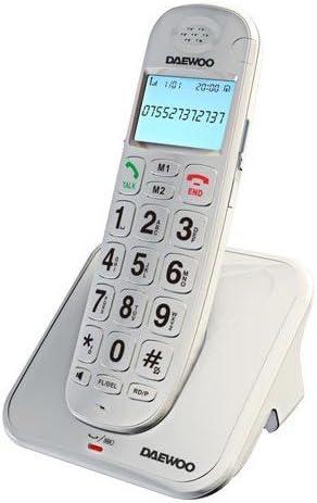 Daewoo DTD 7100 W - Teléfono Fijo: Amazon.es: Electrónica
