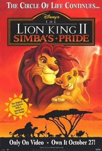 High Quality Prints Disney Animation Movie The Lion King Poster