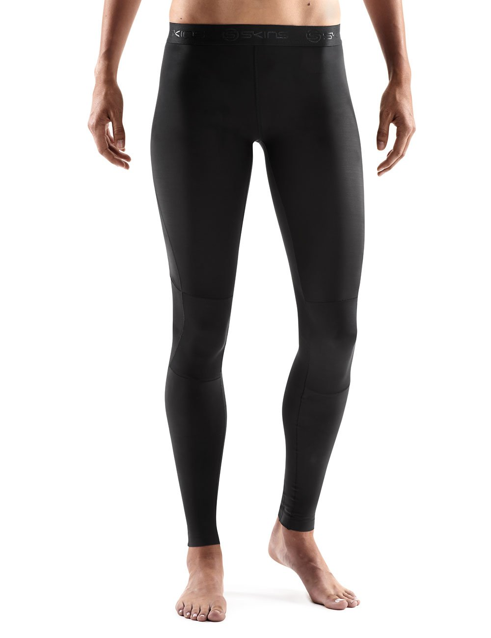 SKINS Women's RY400 Compression Recovery Tights, Black/Black, Small