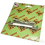 Tailpiece - Kluson,Lightweight Aluminum, Nickel, w/ Steel Studs
