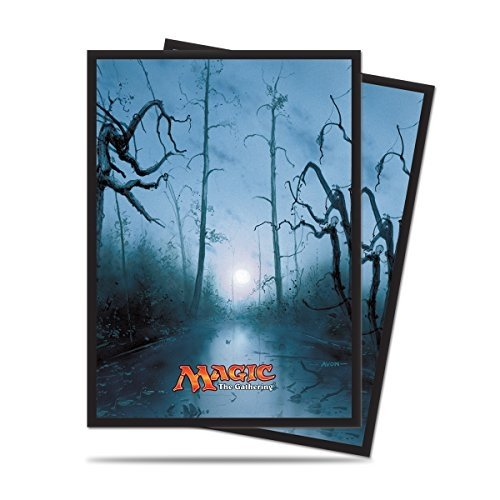 Ultra Pro Mana 5 Unhinged Swamp Standard Deck Protector sleeves for Magic 80ct