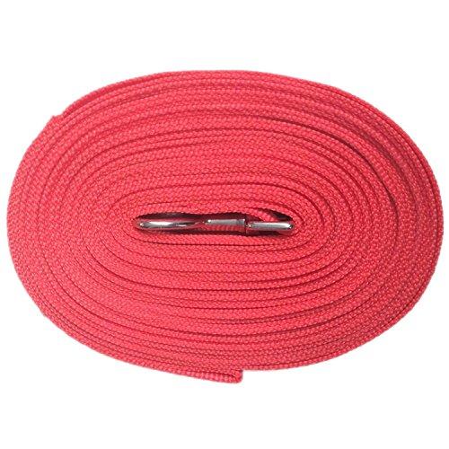 3/4 Nylon Web Lead - Pettom Gear Cotton Web Dog Training Leash Lead Black (2XL, Red)