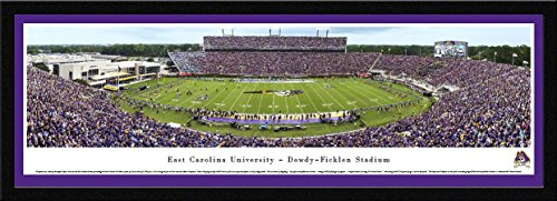 (East Carolina Football - Blakeway Panoramas College Sports Posters with Select Frame)