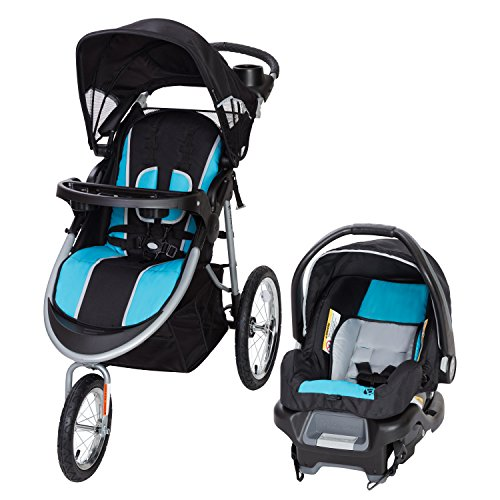 (Baby Trend Pathway 35 Jogger Travel System, Optic Aqua)