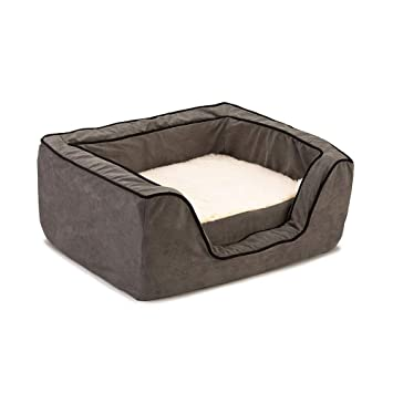 Amazon.com: Snoozer Memory Foam Lujo Plaza Pet cama, XL ...