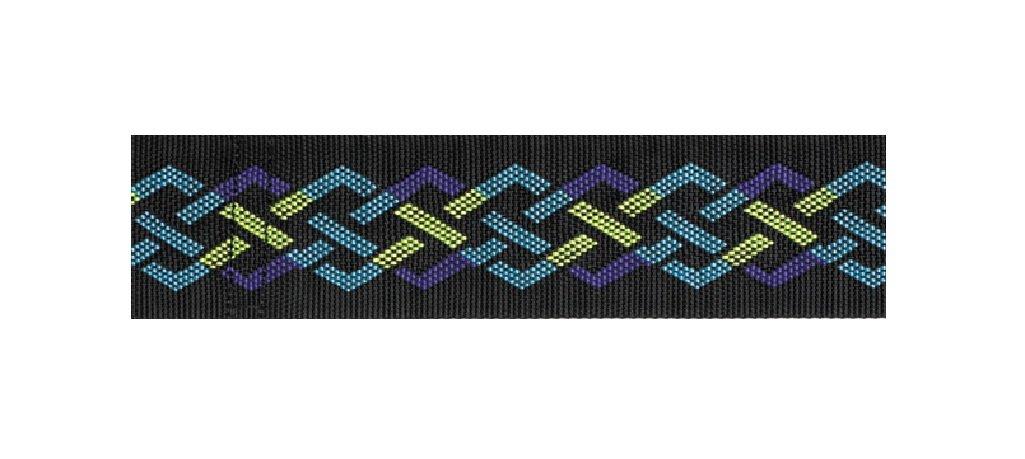 Skil-Care Geo Pattern Gait Belt, 60 Inch Length, Pattern C - Metal Buckle