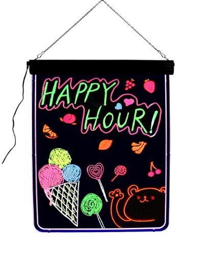 """LED Lighted Message Writing Board & Menu Sign - 32""""x24"""""""