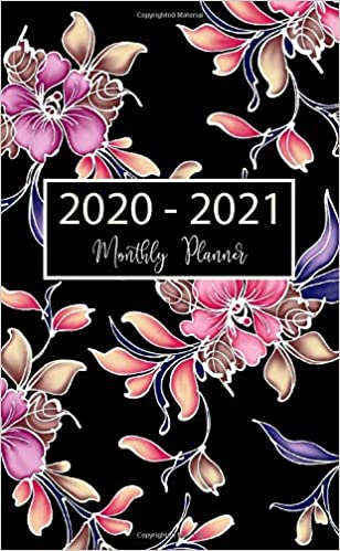 2020 December Calendar Background 2020 2021 Monthly Planner: 24 Month Pocket Planner & Calendar
