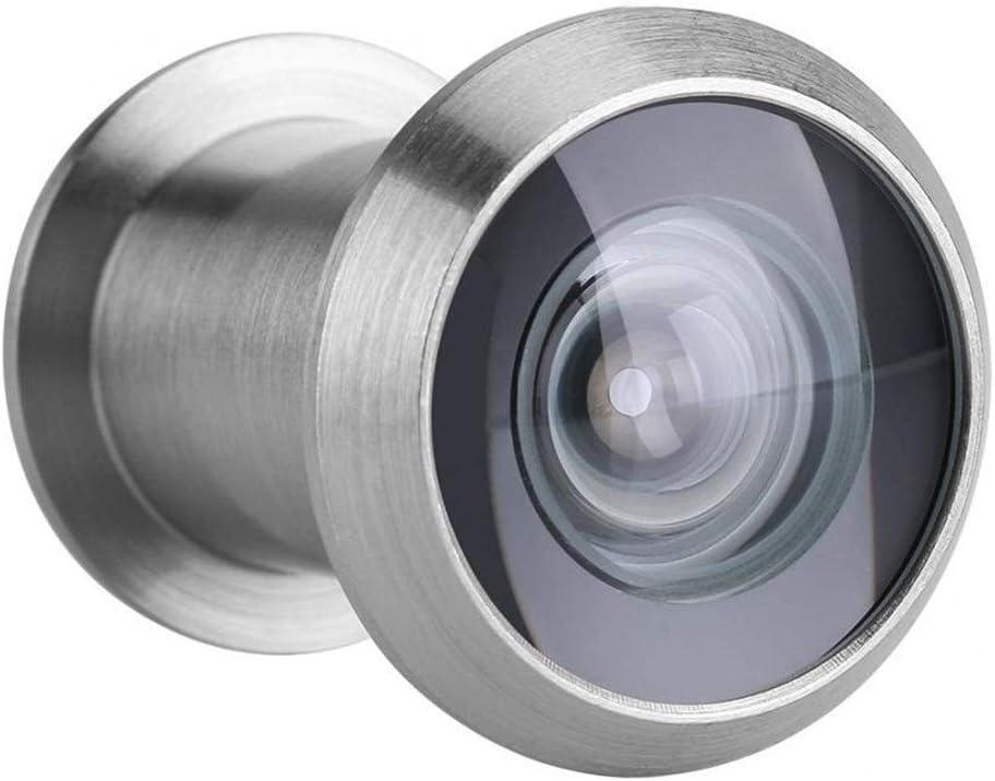 22mm 220 grados de amplio ángulo de la puerta Ámbito de aplicación Visor de Seguridad for el Hogar de cristal óptico de 35 mm hasta 60 mm for la puerta del espectador de bronce rojo 35~60 mm de espe