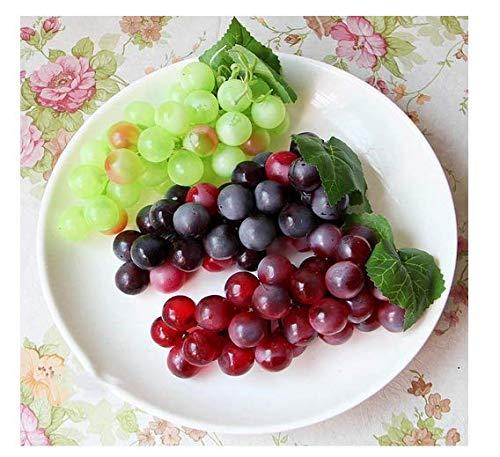 f/ür K/üche k/ünstliche Trauben B/üro und Fotografie Qchengsan K/ünstliche Trauben 4 Farben k/ünstliche Fruchttrauben
