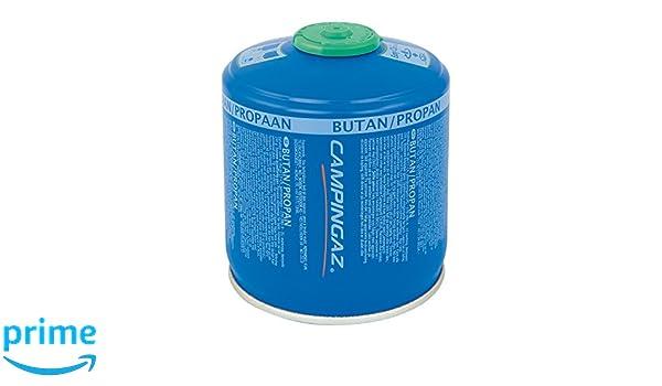 Cartucho de gas de válvula Campingaz CV 300 Plus, para estufa de camping, con válvula de tornillo, mezcla de butano y propano: Amazon.es: Deportes y aire ...
