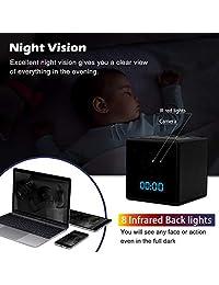 (WiFi) Altavoz Bluetooth portátil de nueva generación Reloj despertador cámara seguro y fácil de aplicar