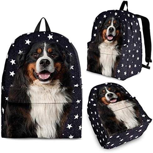Breedink Bernese Mountain Dog Print Backpack / Breedink Bernese Mountain Dog Print Backpack