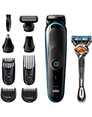 Braun Multi Grooming Kit MGK5280 Trimmer 9-in-1 For Precision Styling From Head To Toe With Free Gillette Fusion ProGlide Razor