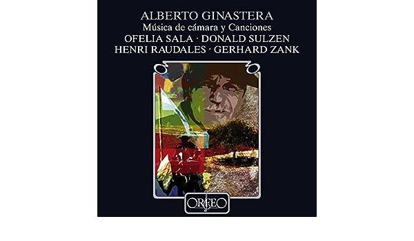 Ginastera: Chamber & Vocal Works by Ofelia Sala on Amazon Music - Amazon.com