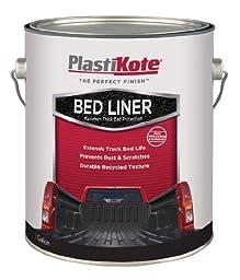 PlastiKote (265G-2PK) Black Truck Bed Liner - 1 Gallon, (Pack of 2)