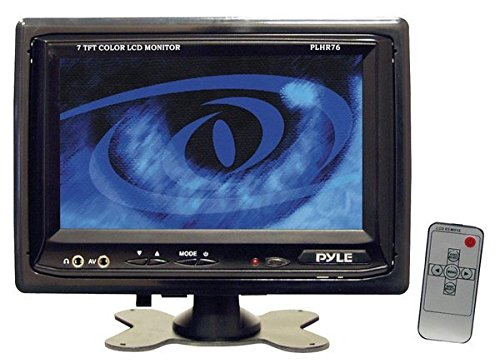 PLHR76 7 Inch Widescreen Monitor Headrest